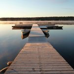 October Dawn at Westwind Inn - one of the two docks