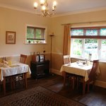 Large airy breakfast room, to cater for just the two bedrooms.