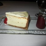 We ALWAYS have the Cheesecake for dessert!