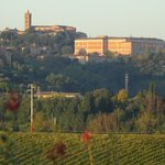 View to Siena