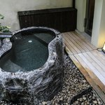 Private hot spring  tub