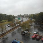 View from 6th floor on a rainy day