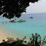 view from tuna bay perhentian kecil,superb!
