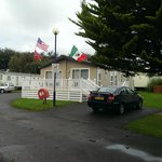 Photo of our lodge in the Leisure Park area.
