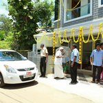 Honorable legislative member Shri G Sudhakaran at the inaugural function of Shade tourist home