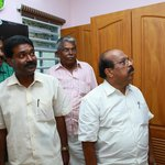 Shri G Sudhakaran MLA touring our newly inaugurated suite.