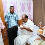 Shri G Sudhakaran and Shrimaty Mercy Diana (Municipal Chairperson) touring the suite