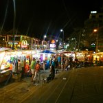 Walking street sunday market 1 min walk from Hotel
