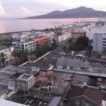 View of the City of Manado, Indonesia.