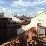 Madrid rooftops from room 403