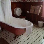 One of the special room baths