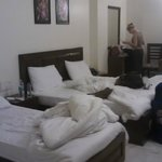 "Our room - a ""triple"" which is actually a double bed and a single bed"