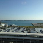 View from Centrair hotel, side not facing airport