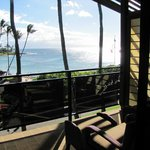 Our AMAZING view from the lanai. You can also see it from the bed...and hear it through the scre