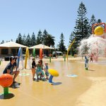 The new Splash Zone at Adelaide Shores Caravan Park