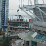 You can see the Roger's Stadium in behind the BC Place