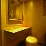 Dressing table in the room