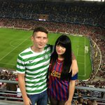 Nou Camp - Celtic! (so unlucky that night)