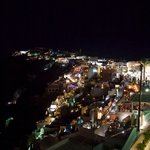 """A View from the Room - Fira at Night"""