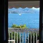 The view from our balcony over Lago Maggiore