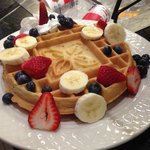 Made to order waffles!