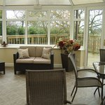 Conservatory and Decking