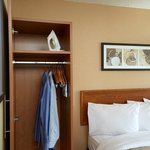 Guestrooms Offer Loads Of Closet Space