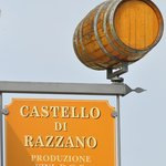 The Castello di Razzano winery.