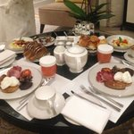 Breakfast time.. Room service..amazing...