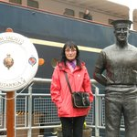Visiting the royal yacht