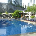 Singapore Marriott's Pool Area