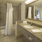 Bathroom of the two room Executive Suite