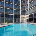 Enjoy the outdoor pool at the Holiday Inn Hobby Airport