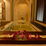 Jacuzzi hot-tub in Pool Villa
