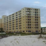 PLANTATION DUNES BUILDING FROM BEACH