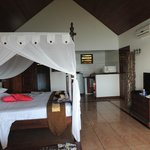 Our bungalow with kitchenette