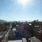View of Puno from breakfast room