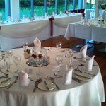 Setting for Wedding Breakfast