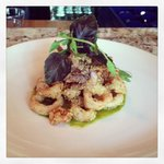 Buttermilk Fried Calamari with Chimichurri