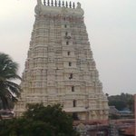 Picture of Main Rameshwaram temple ,capture from the roof top of the hotel