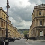 Bath, Circus, looking toward Gay Street