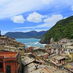 vernazza and the harbor