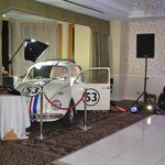 Herbie in the main function room.