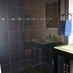 modern shower full bathtub also