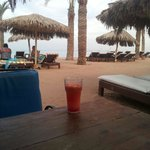 Beach bar view :-)