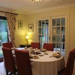 Lovely dining room of the Claddagh House