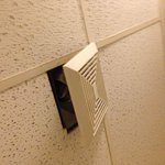 Vent in restroom of suite