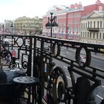 view over nevsky prospect