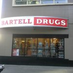 Drug store 100 feet from front door of hotel