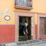 The front door to Casa de los Soles